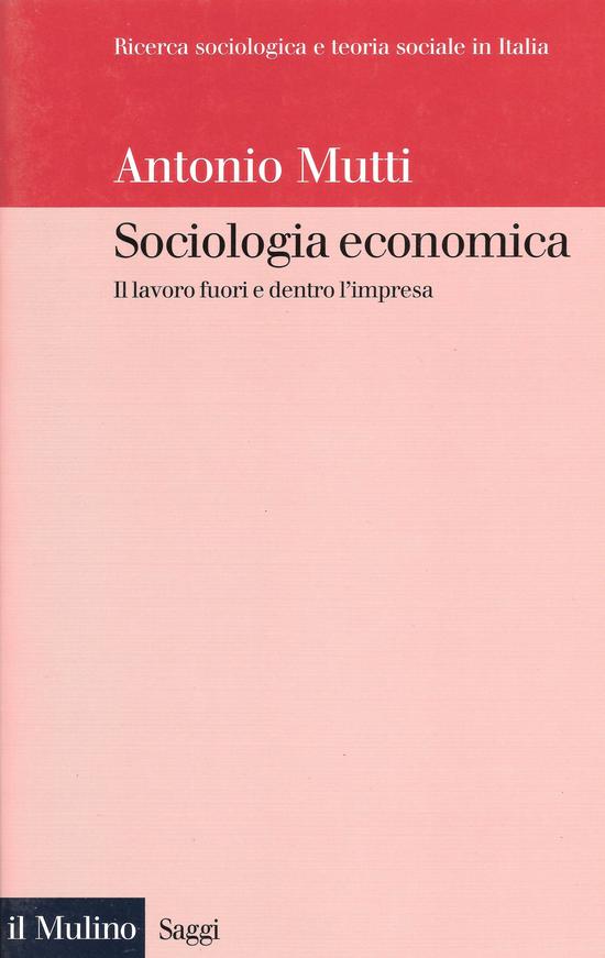 Copertina del libro Sociologia economica